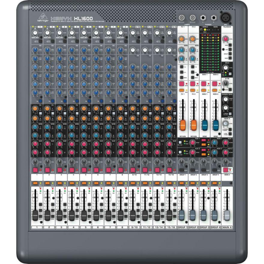 BEHRINGER XENYX XL1600 - MIXER PER LIVE ...
