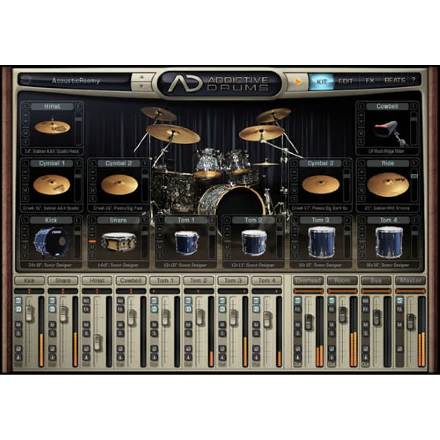 XLN AUDIO Addictive Drums + Retro Bundle