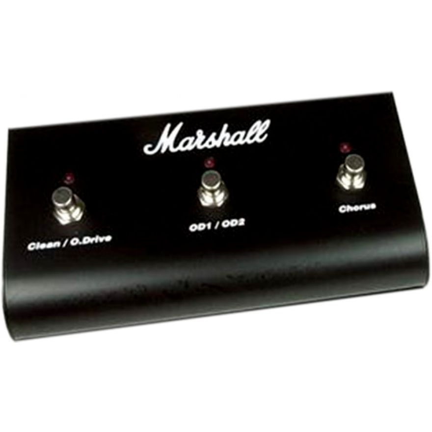 Marshall PEDL10014 Three Way Footswitch con LED (PED803)