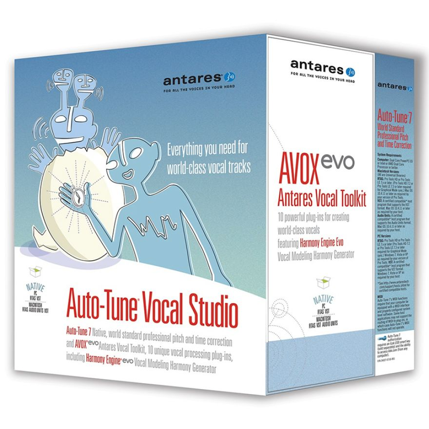 ANTARES Auto Tune Vocal Studio 7 Native