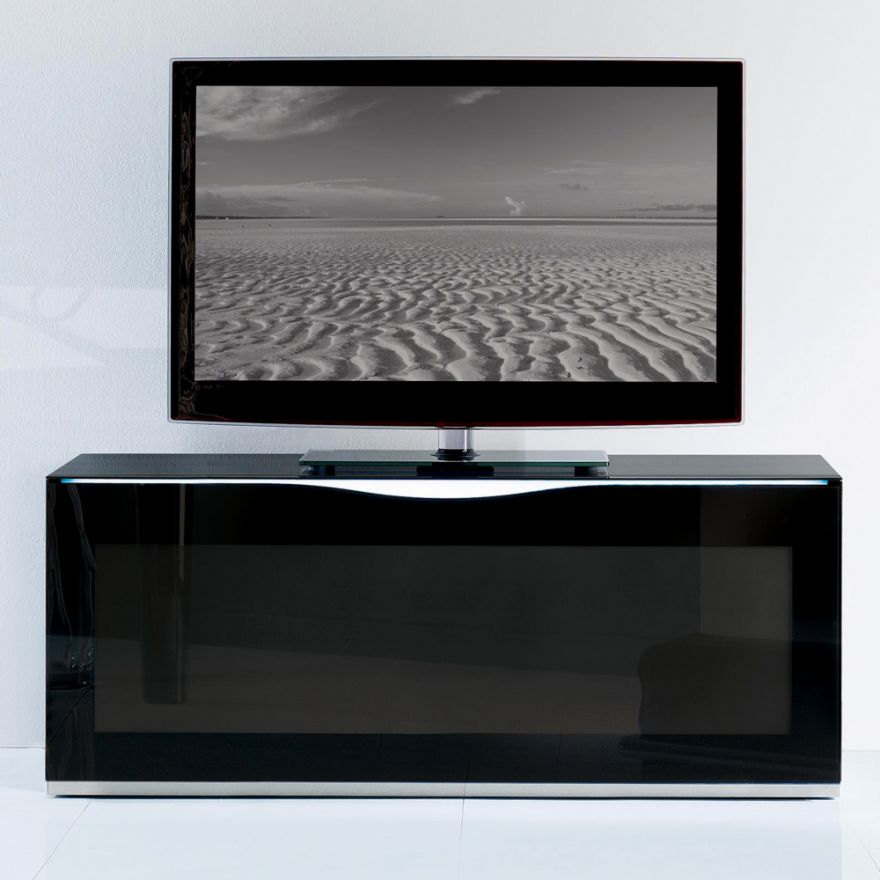MUNARI MO112NE - MOBILE PER TV FINO A 50' con illuminazione led