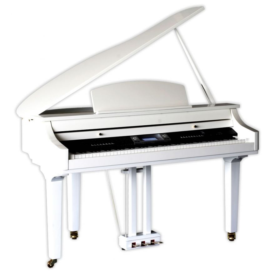 MEDELI GRAND 500GW - PIANOFORTE DIGITALE BIANCO