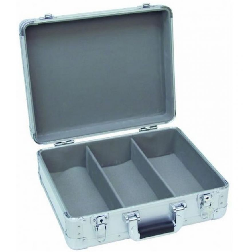 OMNITRONIC CD CASE DIGITAL BOOKING SILVER PER 90 CD