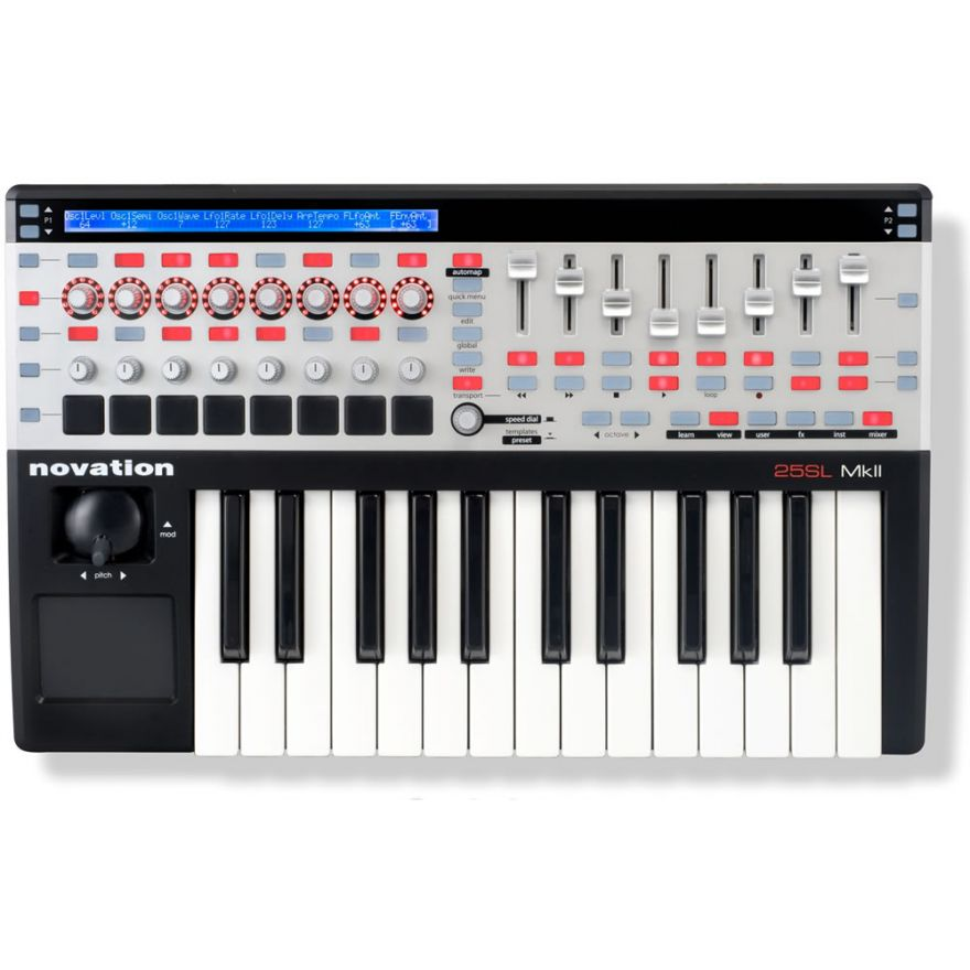 0-NOVATION ReMOTE SL 25 MKI