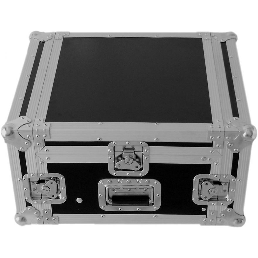 Y-CASE 4MR - FLIGHT CASE RACK 4U + MIXER