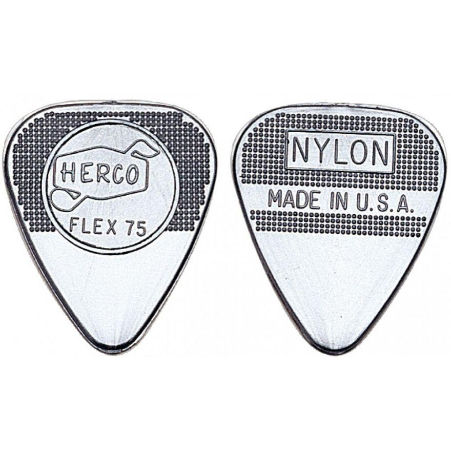 Dunlop HE211P Herco Flat Silver - Heavy