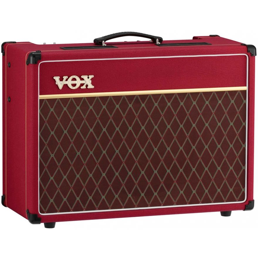 VOX AC15C1 RED Limited Edition - COMBO VALVOLARE 15W