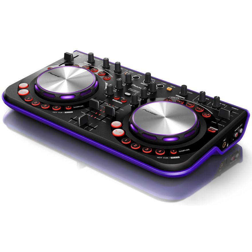 PIONEER DDJ-WeGo-V Violet - CONTROLLER PER VIRTUAL DJ Limited Ed
