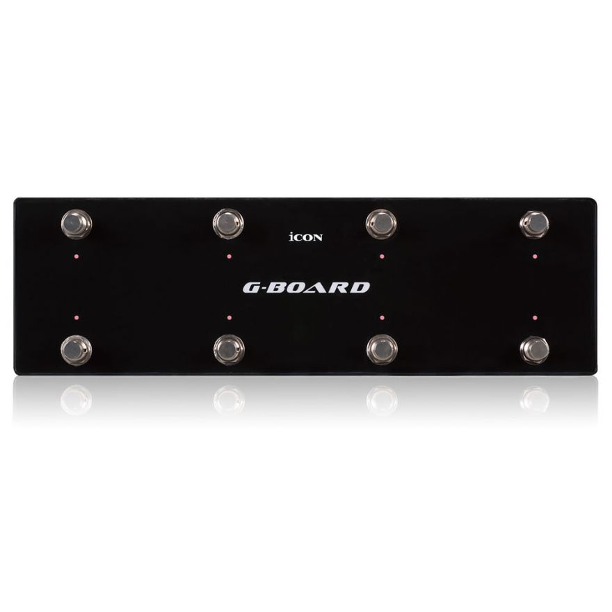 0-ICON G-BOARD BK -PEDALIER