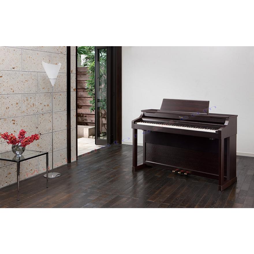 ROLAND HP307RW - PIANOFORTE DIGITALE 88 TASTI PALISSANDRO