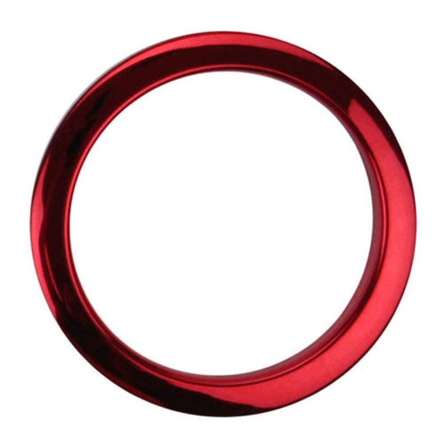 BASS DRUM O's HCR4 Red - ANELLO DI RINFORZO FORO GRANCASSA 4'