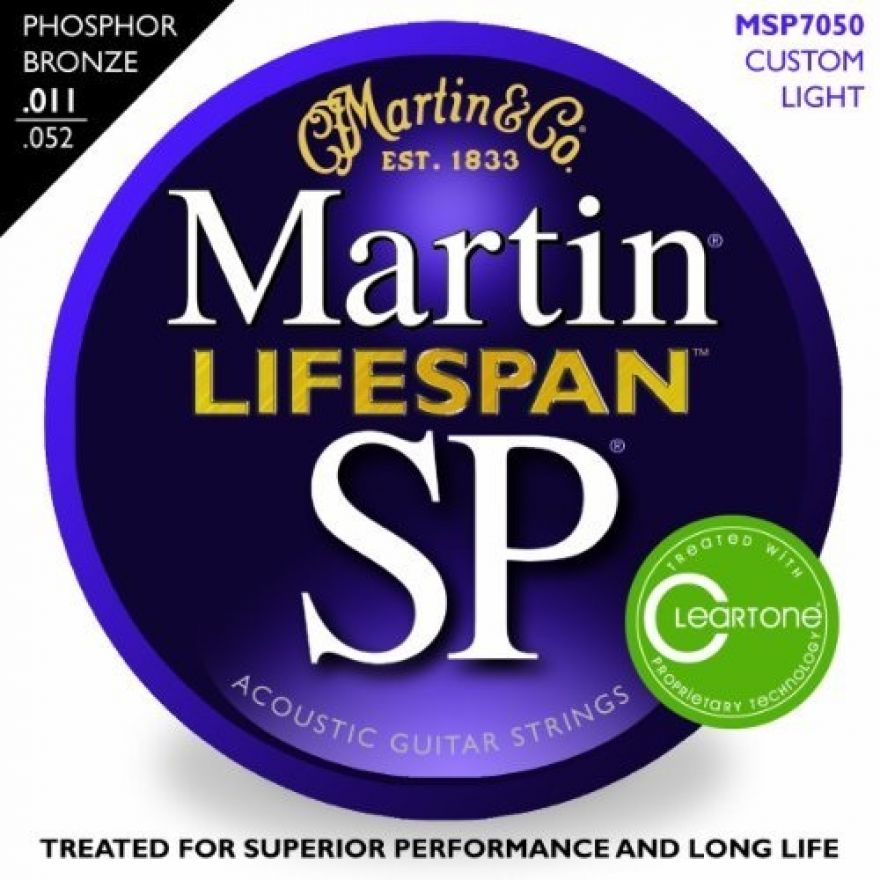 MARTIN MSP7050 LifeSpan - 92/8 PHOSPHOR BRONZE 0.11