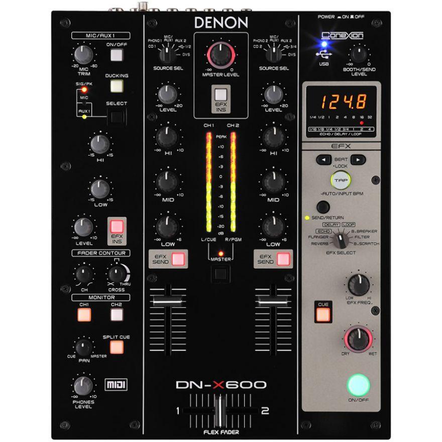 DENON DNX600 - DIGITAL MIXER 2+1 CANALI