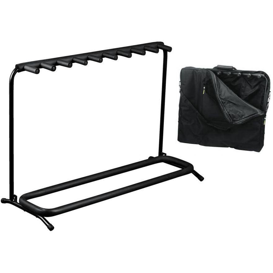 ROCKSTAND RS20863B/B/2 Stand per 9 strumenti con borsa