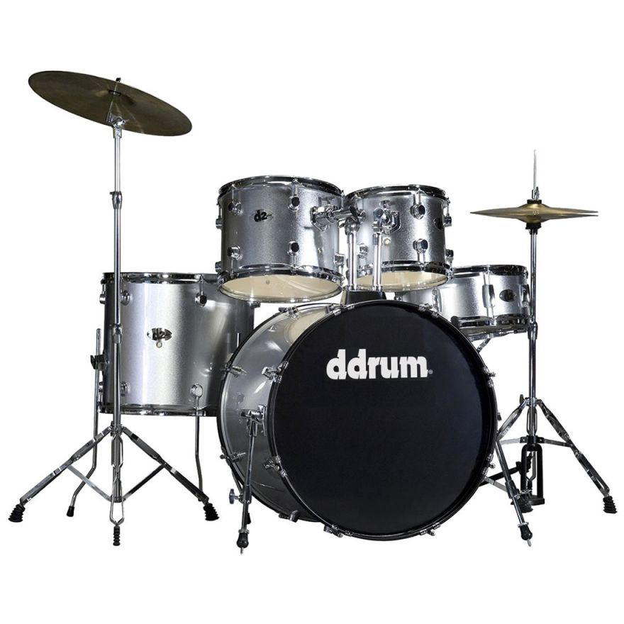 DDrum D2 BS Brushed Silver - BATTERIA ACUSTICA KIT COMPLETO