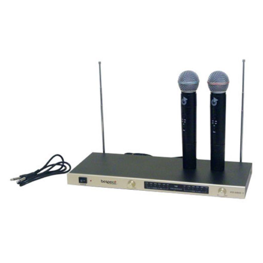 BESPECO SW3500 - RADIOMICROFONO CON 2 MICROFONI a Gelato