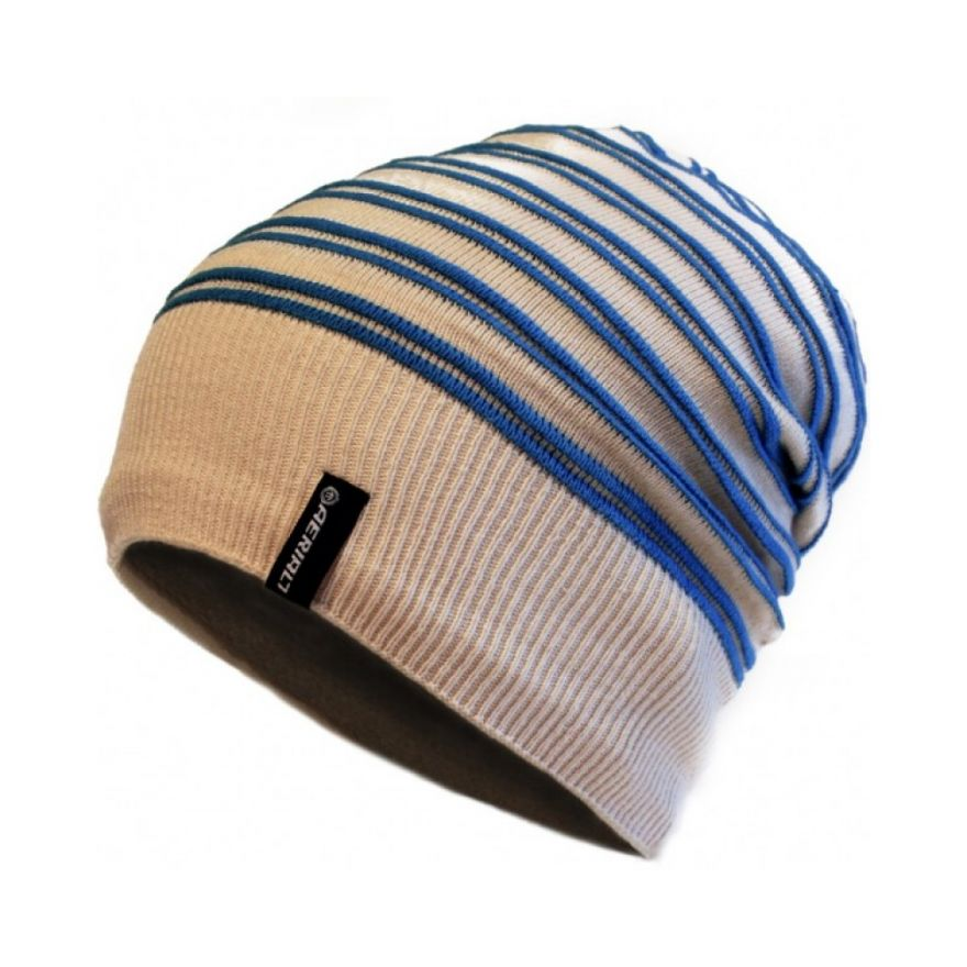 AERIAL 7 SOUND DISK BEANIE WHISTLER CREAM BLUE