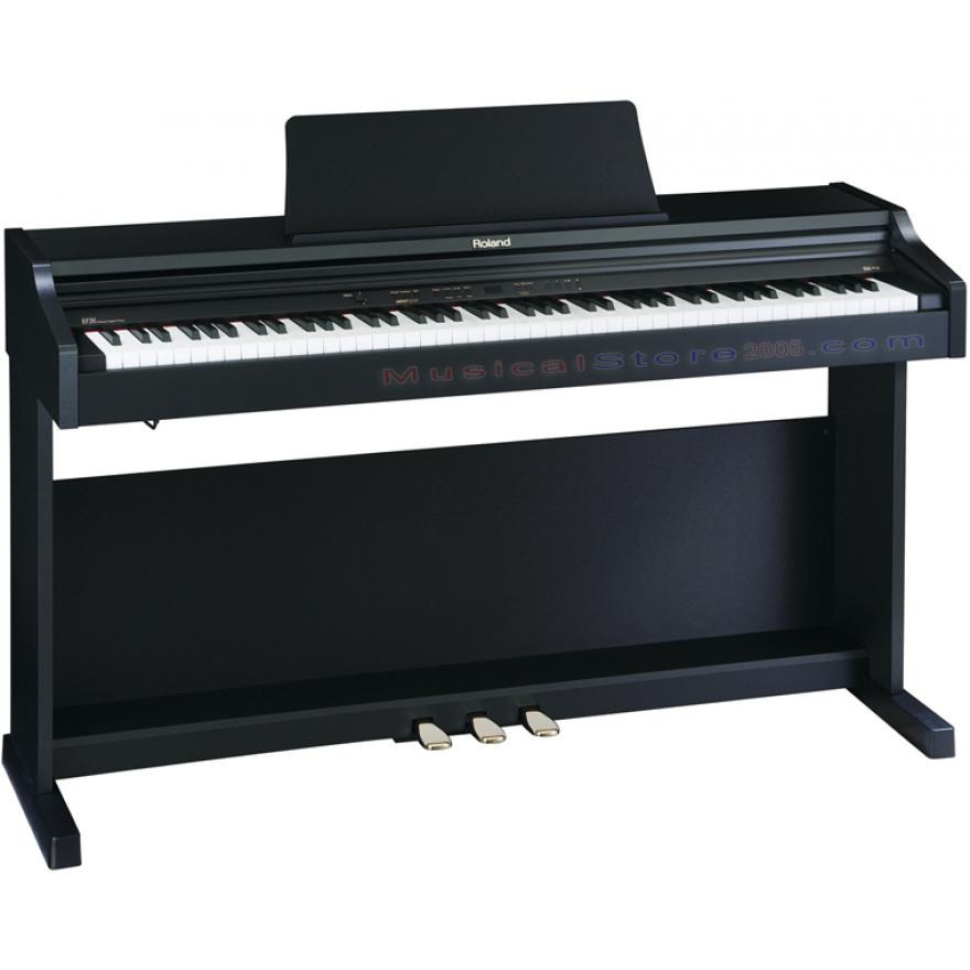 ROLAND RP201SB - PIANOFORTE DIGITALE 88 TASTI NERO SATINATO