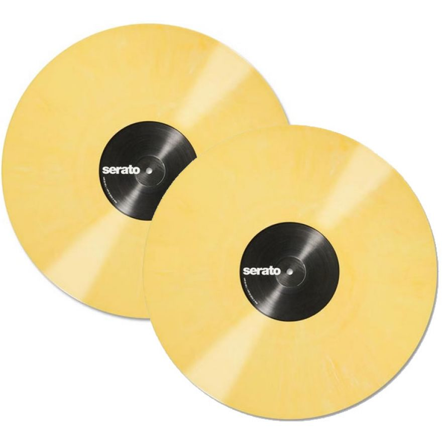 SERATO Yellow 12 (Coppia) - VINYL CONTROL PER SERATO