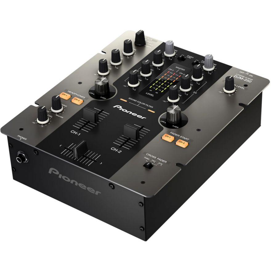 0-PIONEER DJM250K Black - M