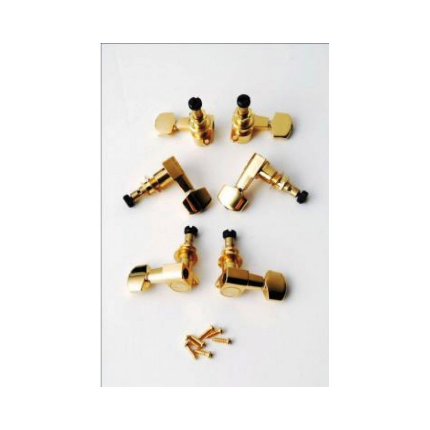 PRS ACC4338 Phase II Locking Tuners  GOLD (SET 6)