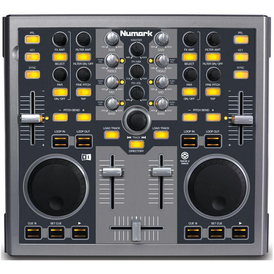 NUMARK TOTAL CONTROL MKII  - MIDI CONTROLLER PER DJ USB