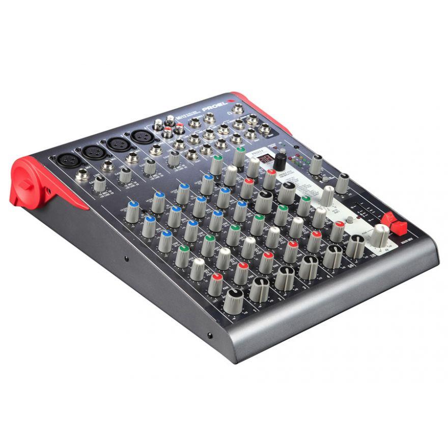 PROEL Mi12 - Mixer 12 input 2 output con effetti
