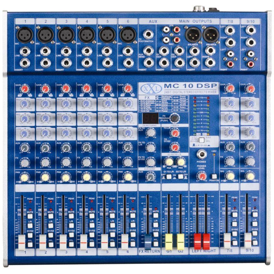 XXL MC10DSP - MIXER PASSIVO 10 CANALI