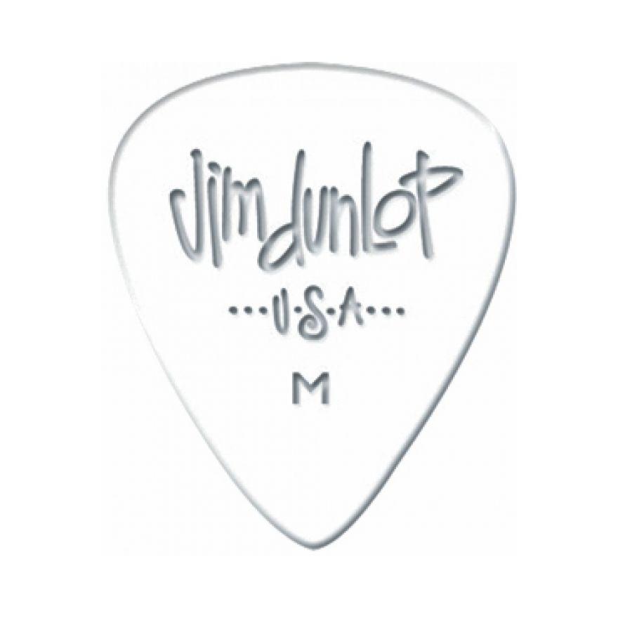 Dunlop 483R01TH White Classic Thin 72 Plettri