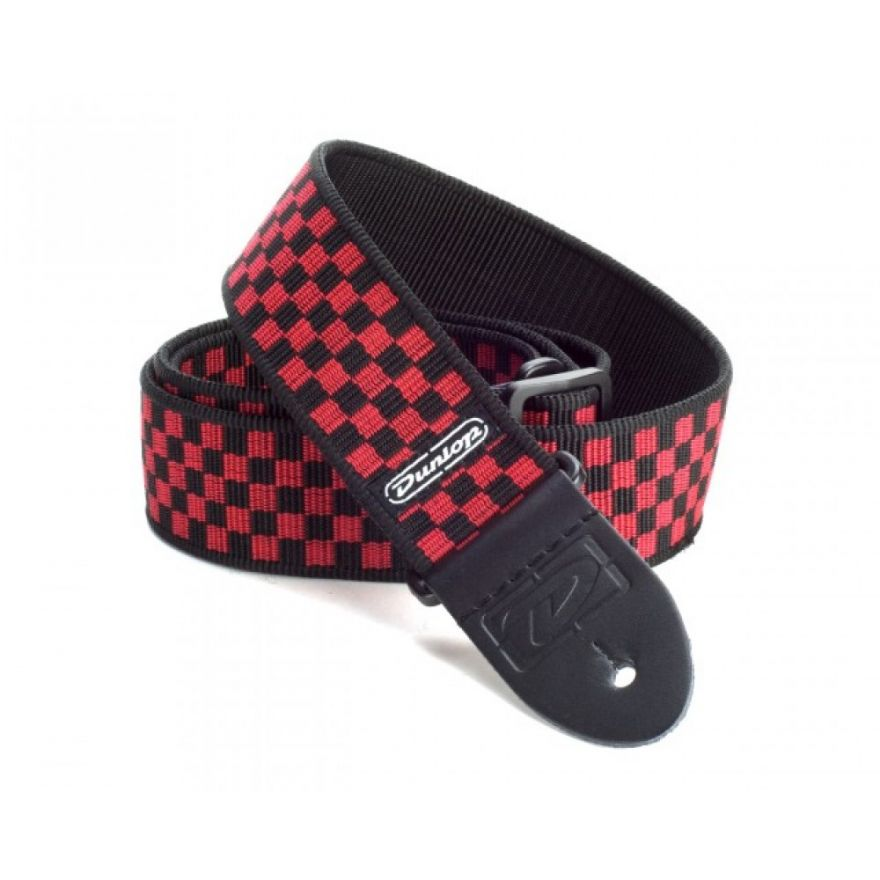 Dunlop D38-31RD STRAP RED CHECK-EA