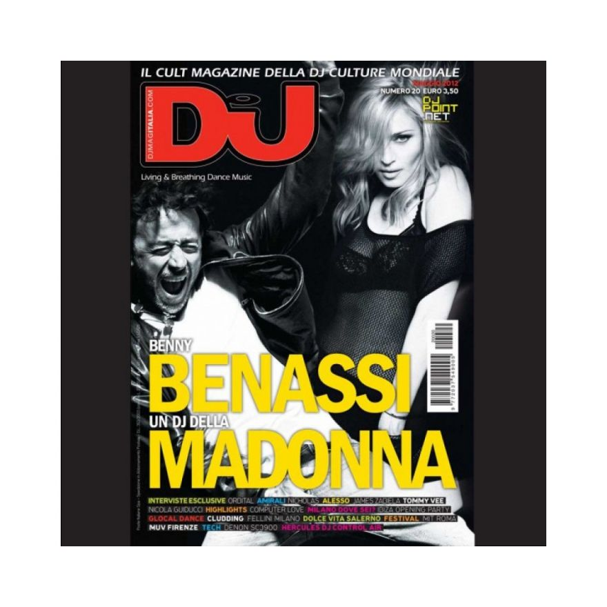 DJ MAG ITALIA DJ MAG MAGGIO 2012
