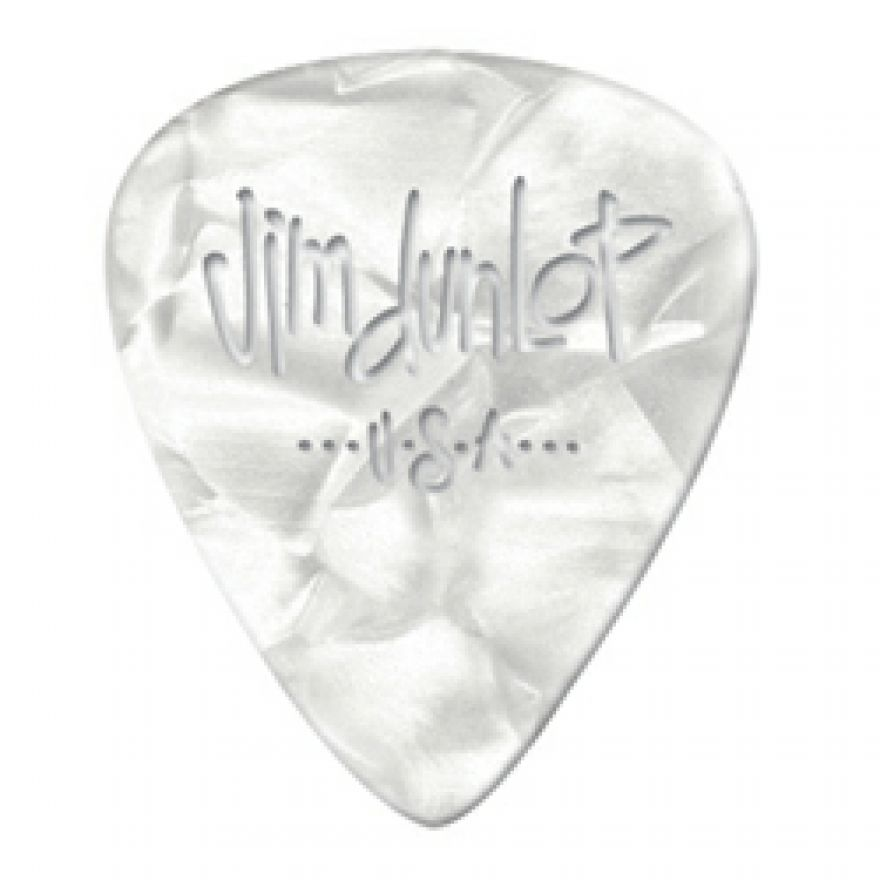 DUNLOP 483P#04 - 12 PLETTRI SPECIALTY 'GENUINE CELLULOID' MEDIUM