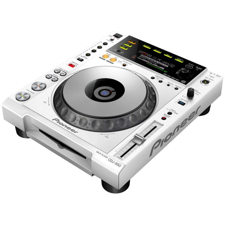 PIONEER CDJ850W White - LETTORE CD PER DJ