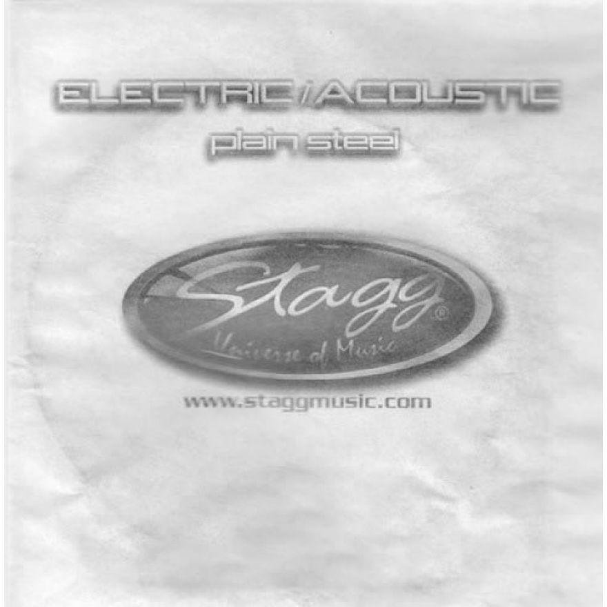 STAGG PLS-017 - CORDA SINGOLA PER CHITARRA ELETTRICA/ACUSTICA