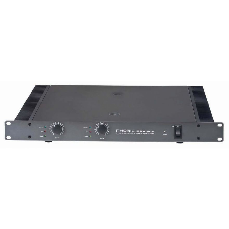 0-PHONIC MAX500 - AMPLIFICA