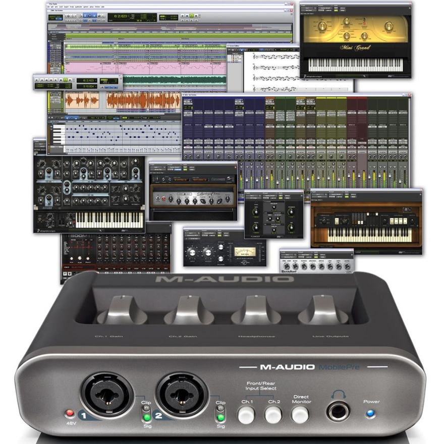 M-AUDIO MOBILE PRE USB  + Pro Tools M-Powered 9