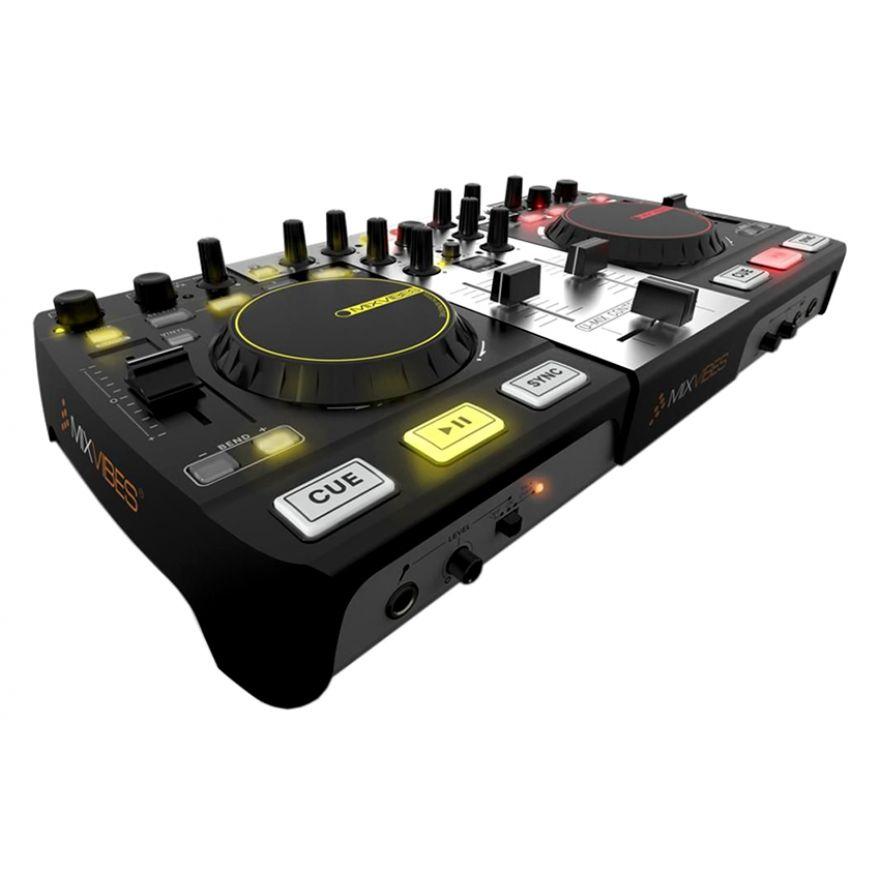 MIXVIBES U-MIX CONTROL PRO - CONTROLLER MIDI USB CON SCHEDA AUDIO