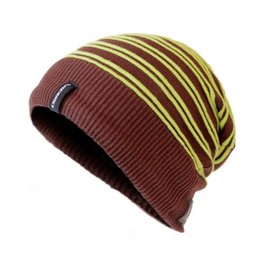 AERIAL 7 SOUND DISK BEANIE WHISTLER BROWN LIME
