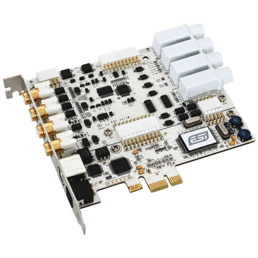 ESI Juli@ XTe - Scheda Audio PCIe 4 In 4 Out Socket Intercambiabile