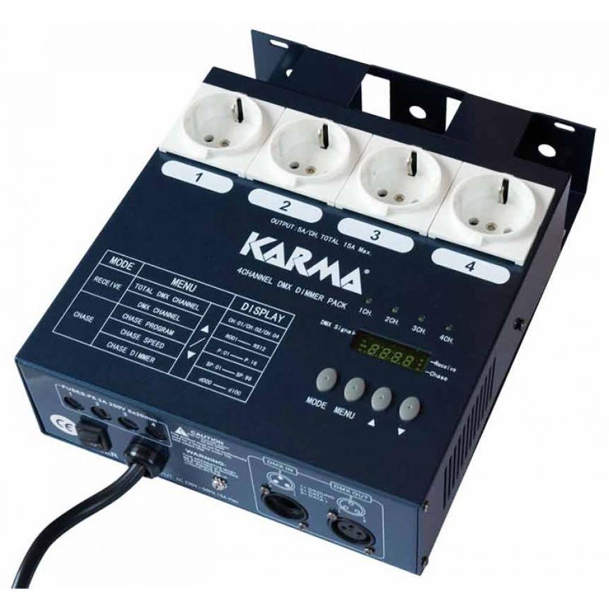 0-KARMA DIMMER 4DMX - DIMME