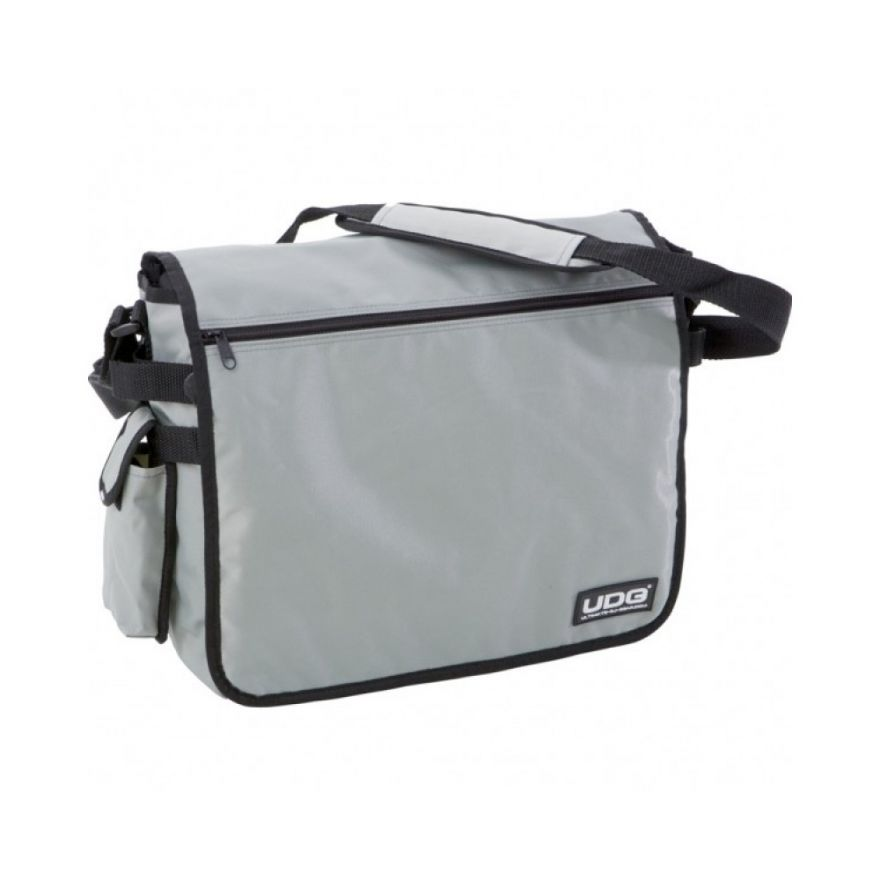 UDG COURIER BAG STEEL GREY - BORSA PORTA DISCHI PER DJ