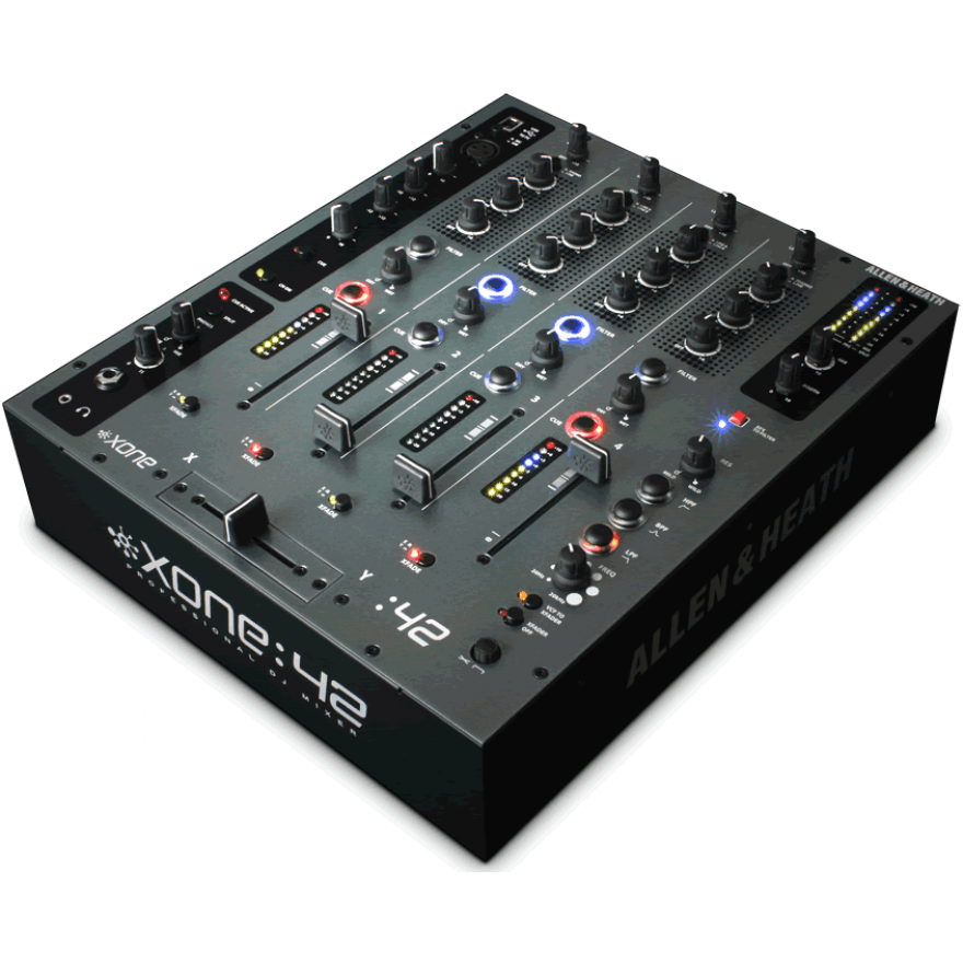 ALLEN & HEATH XONE 42 - MIXER BLACK PER DJ PROFESSIONALE