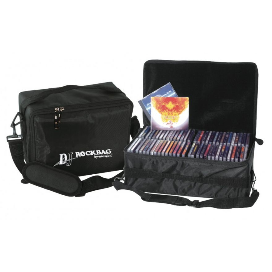 ROCKBAG RB27330B DJ bag con 1 inserto per 30 CDs