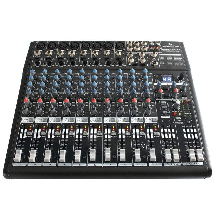 0-SOUNDSATION NEOMIX 802UFX