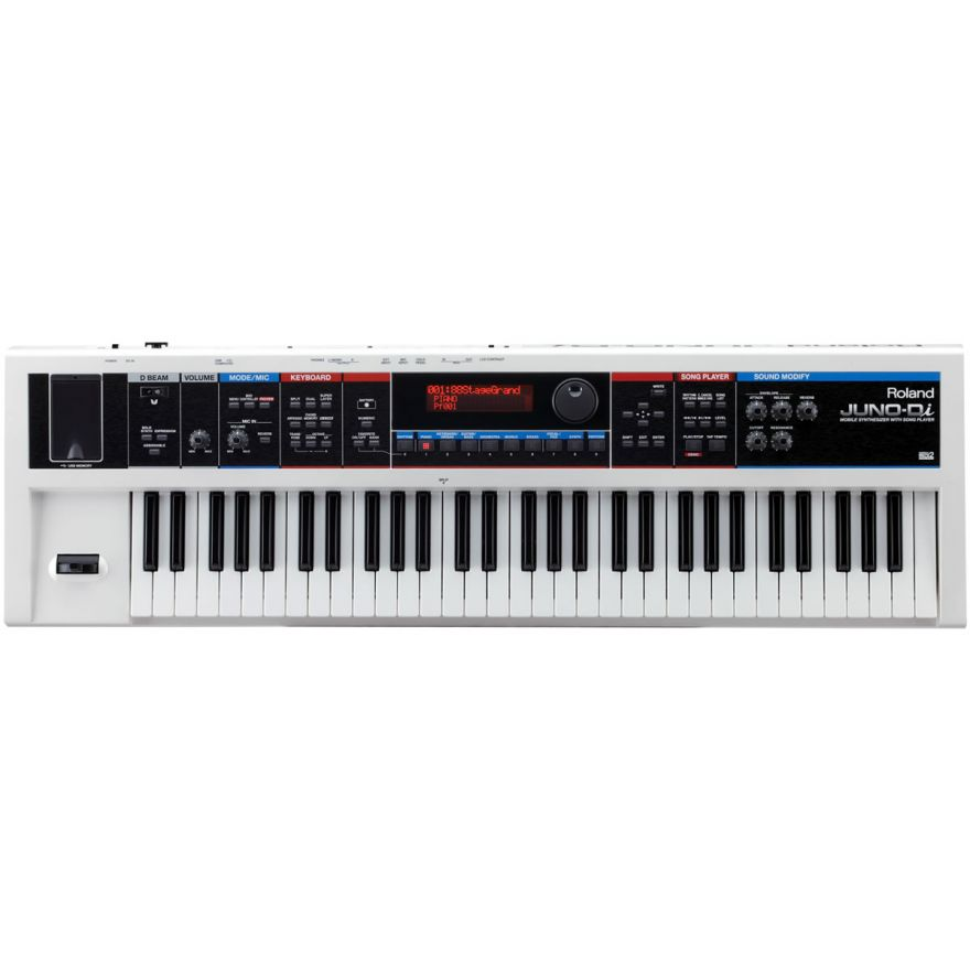 ROLAND JUNO-Di-WH - Synthesizer with Song Player