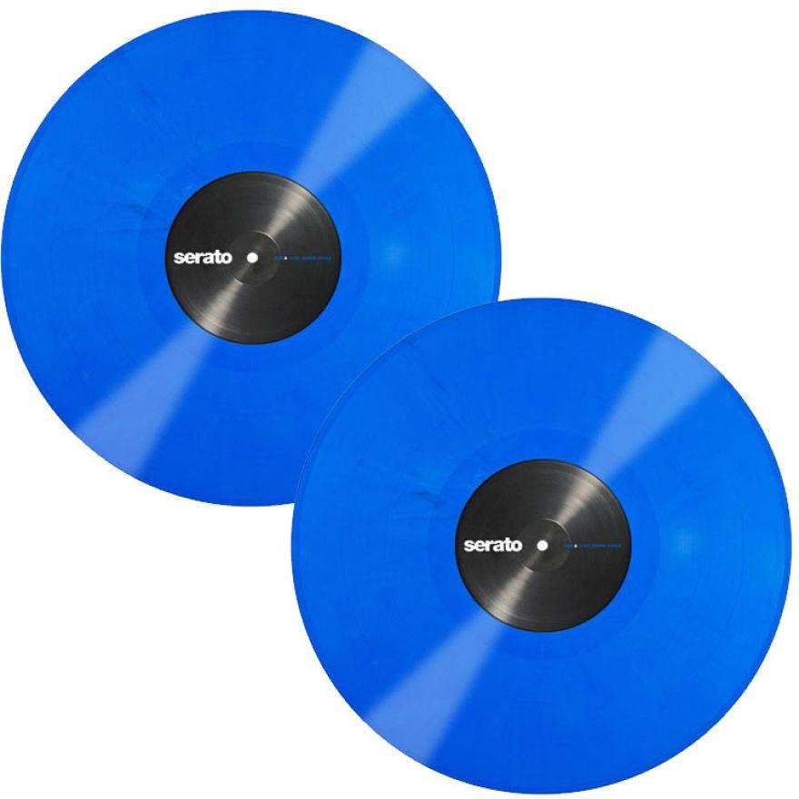 SERATO BLUE 12 (COPPIA) - VINYL CONTROL PER SERATO