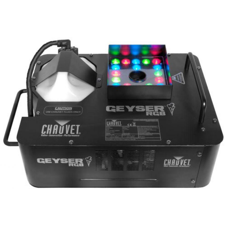 CHAUVET DJ GEYSER RGB - Macchina da fumo verticale con leds