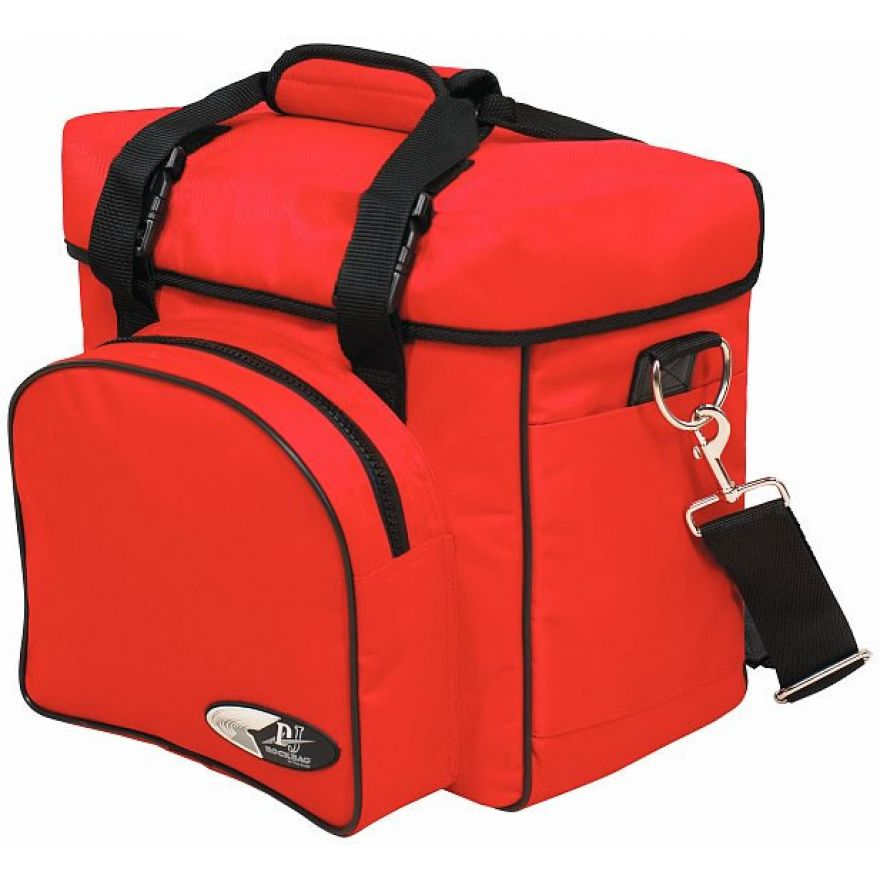 ROCKBAG RB27110R DJ backpack bag per 20 vinili red