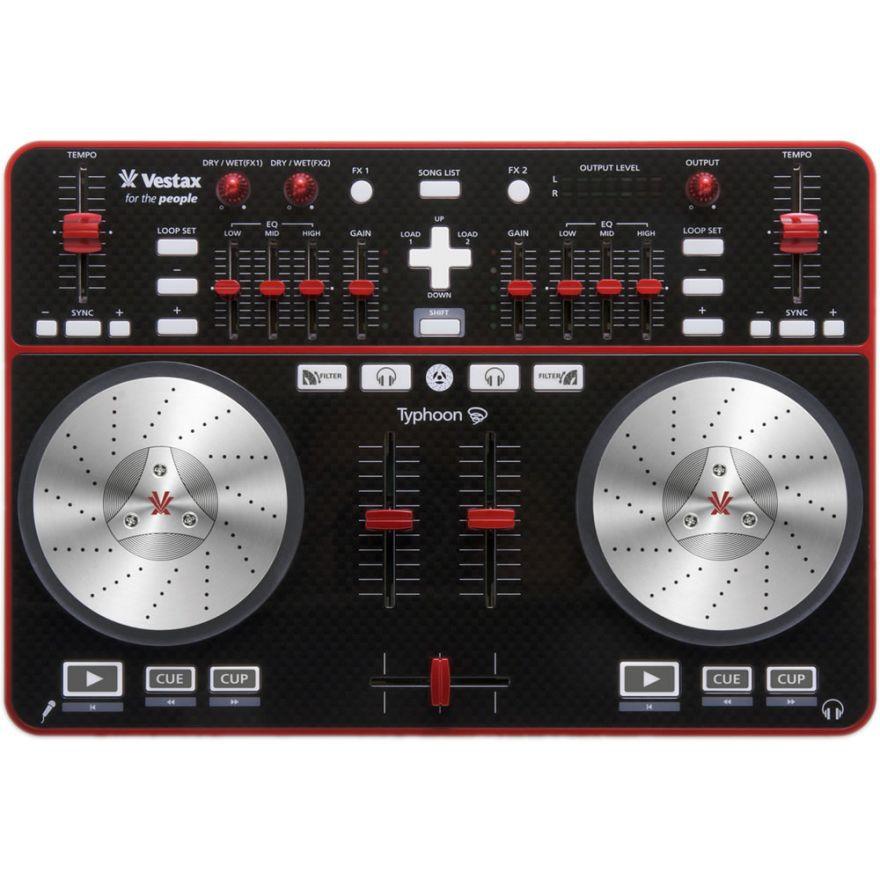 VESTAX TYPHOON - CONTROLLER DJ PER PC / MAC