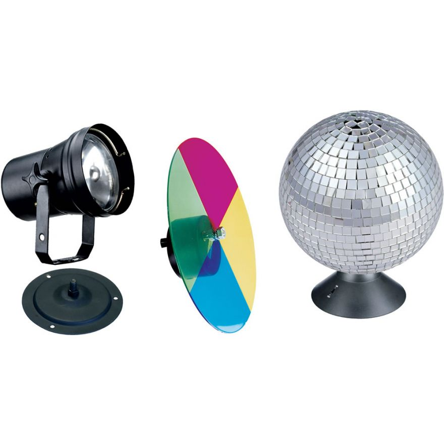 DJ 310V - KIT SFERA + FARO + DISCO MULTICOLORE